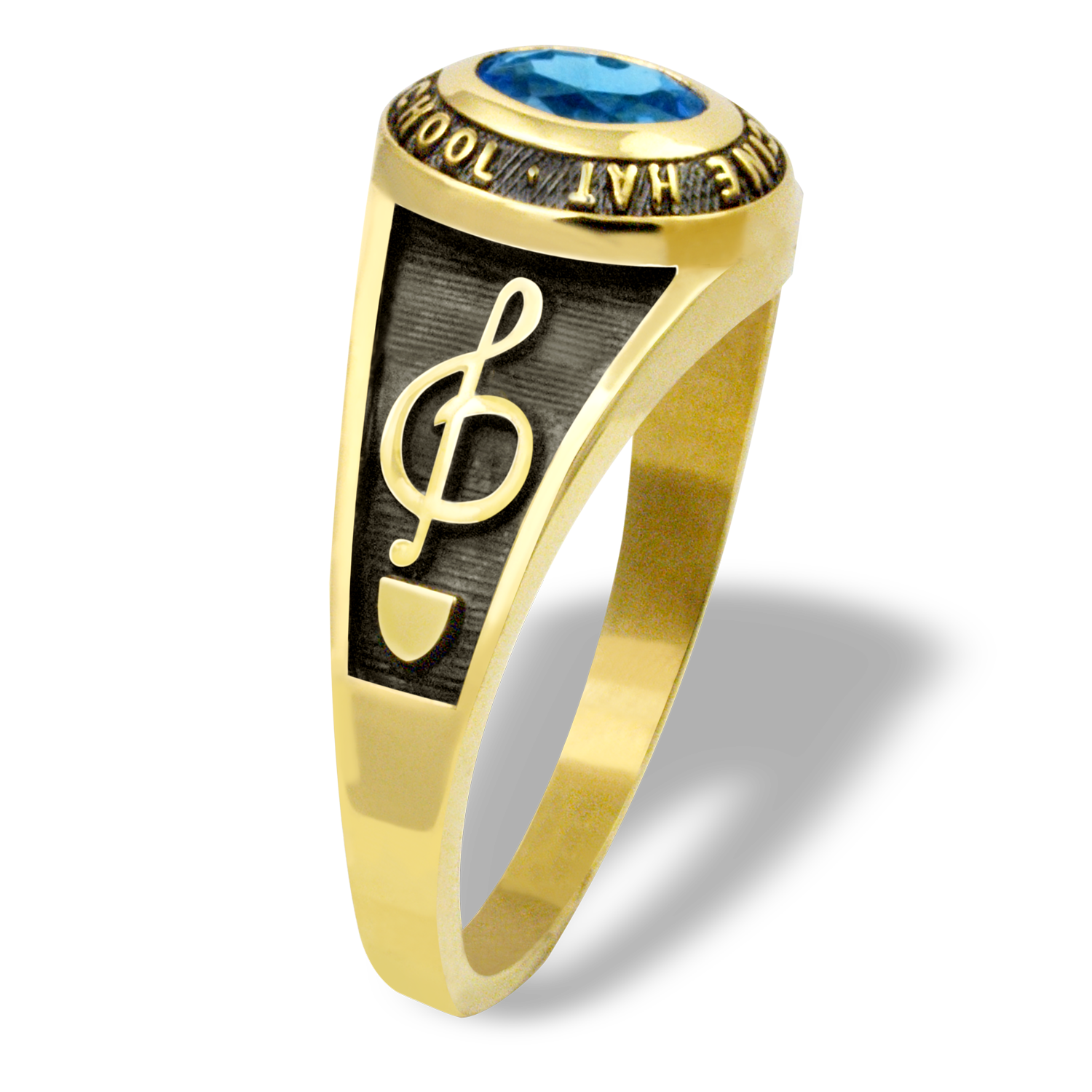 music jewelry rings caymancode wire note handmade ring